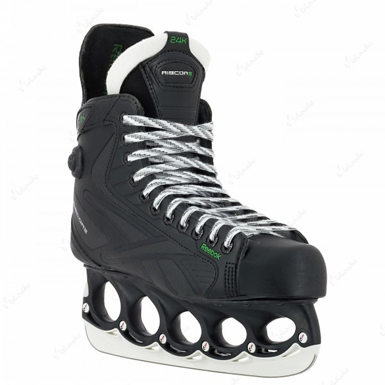 reebok ribcore 24k pump eishockey schlittschuhe mit t blade. Black Bedroom Furniture Sets. Home Design Ideas