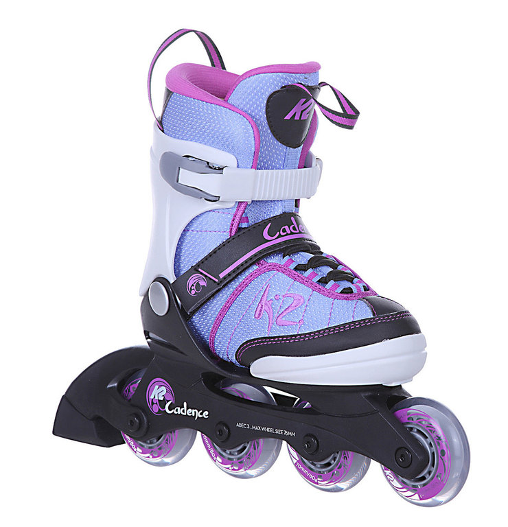 k2 cadence girl inliner skates f r kinder gr enverstellbar. Black Bedroom Furniture Sets. Home Design Ideas